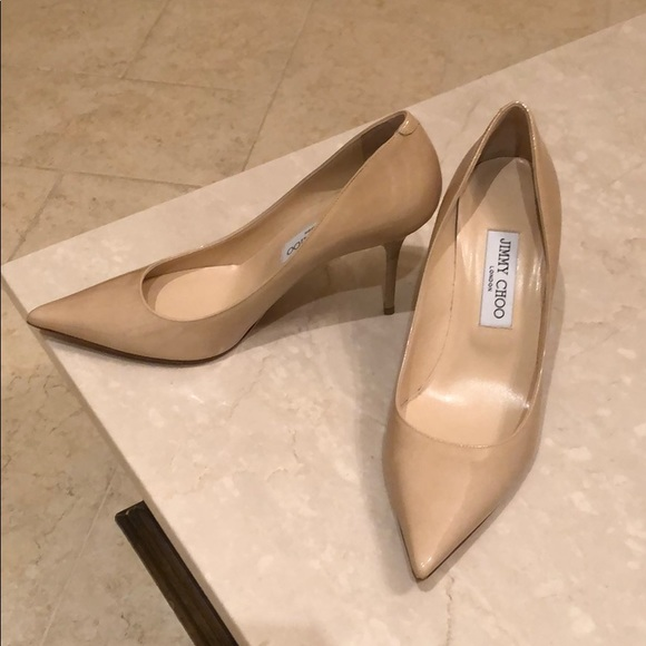 9d0e96ed5dfb Jimmy Choo Shoes - Jimmy Choo Romy Patent Pointed-Toe 85mm Pump